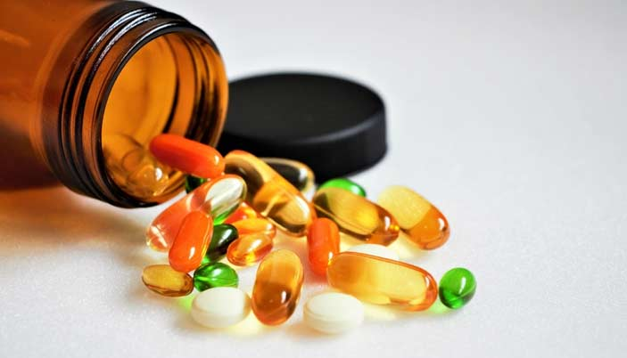 kinds of Vitamin supplements