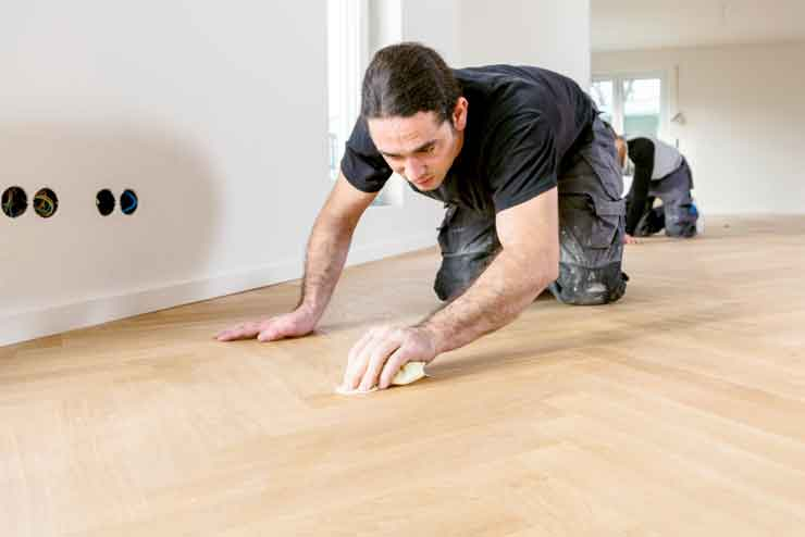 Remove Paint from Hardwood Floors