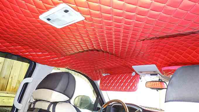 Fixing a Car's Headliner - How to do it (2)